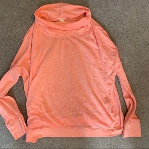 Caslon pink turtleneck